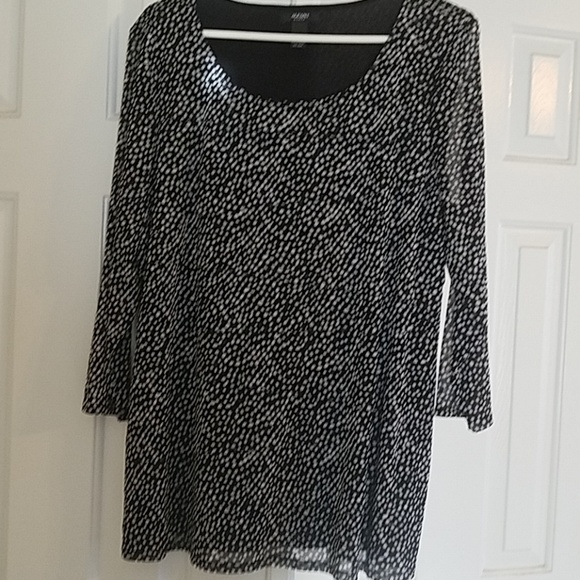 Alfani Tops - Alfani polka dot blouse